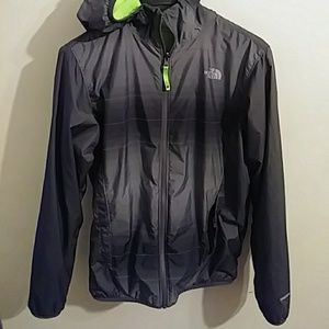 Boys North Face Jacket- Reversible